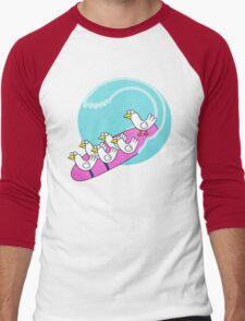 Birdsurfing Men's Baseball ¾ T-Shirt