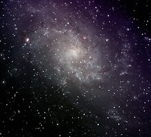M33, The Triangulum Galaxy by outcast1