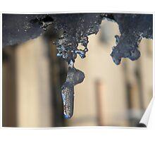 Winter Drip Poster