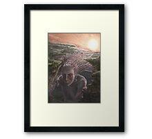 Fed off the light of the Sun Framed Print