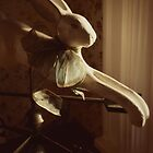 Rabbit Weathervane by Angi Allen