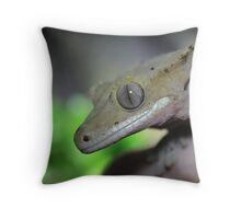 Crested Gecko Throw Pillow