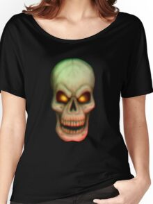 Freaky Skull Women's Relaxed Fit T-Shirt