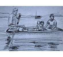 Rowboat Photographic Print