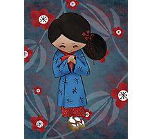 """Maiko"" Apprentice Geisha Photographic Print"