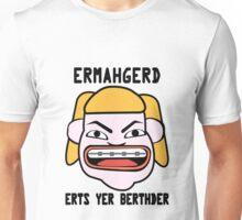 Ermahgerd herper berthder geek funny nerd Unisex T-Shirt