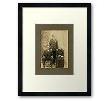 Mr. Martin Tosh , Rutherford, Tenn. Framed Print