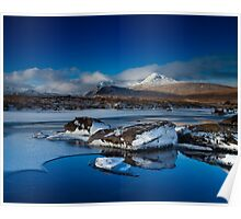 Highland Winter Poster