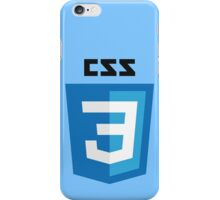 css3 iPhone Case/Skin