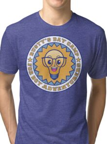 rusty's day camp for boy adventurers Tri-blend T-Shirt