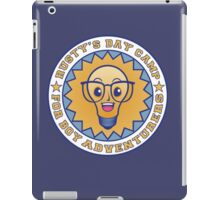 rusty's day camp for boy adventurers iPad Case/Skin
