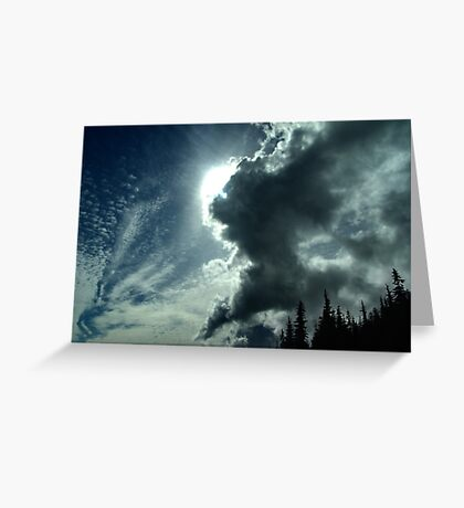 Sky-Scape Greeting Card