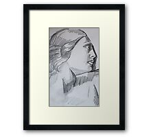 Sketch From a Painting Framed Print