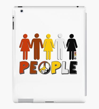 People 4 WORLD PEACE iPad Case/Skin