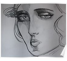 Sketch From a Painting 2 Poster