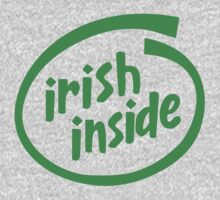Irish Inside One Piece - Short Sleeve