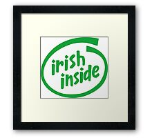 Irish Inside Framed Print