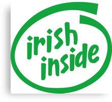 Irish Inside Canvas Print