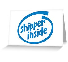 Shipper Inside Greeting Card