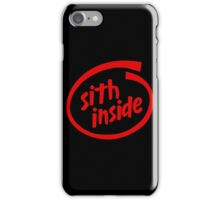 Sith Inside iPhone Case/Skin