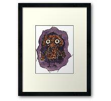 Owlin' Framed Print