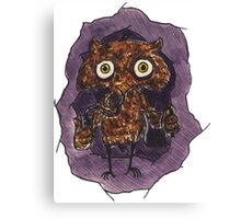 Owlin' Canvas Print