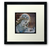 Angel Rose Framed Print