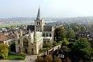 Rochester Cathedral by Corrine Symons