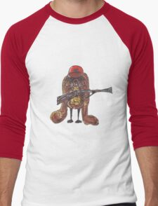 The rabbitish hunter Men's Baseball ¾ T-Shirt