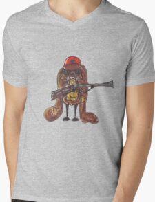 The rabbitish hunter Mens V-Neck T-Shirt