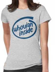 Whovian Inside Womens Fitted T-Shirt