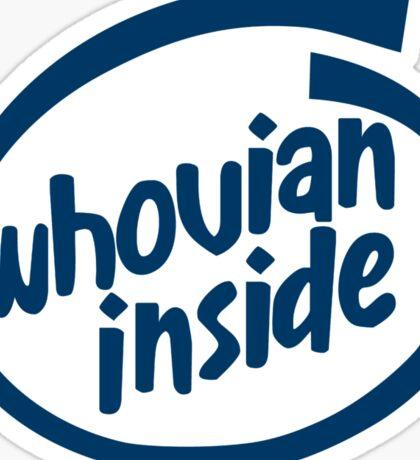 Whovian Inside Sticker