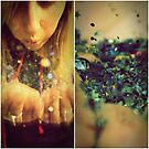 shards of sparkle fill the air by Fiona Christensen
