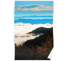 VALLEY CLOUDS Poster