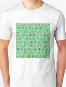 Food pattern vector T-Shirt