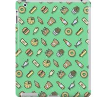 Food pattern vector iPad Case/Skin