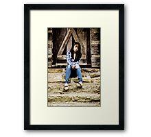 Model Tiffany Framed Print