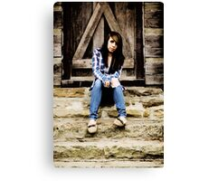 Model Tiffany Canvas Print