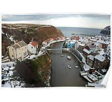Staithes, North York Moors National Park Poster