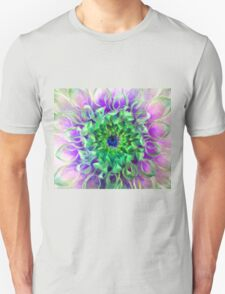 Beauty is in the Eye of the Beholder (Purple Center) T-Shirt