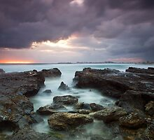 Currumbin sunrise by Stephanie Johnson