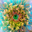 Beauty is in the Eye of the Beholder (Green Center) by Bunny Clarke