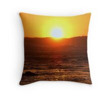 Monterey Sunset Throw Pillow