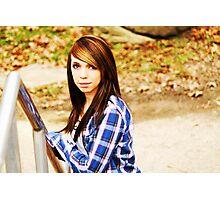 Lori Wells Photography Lexington Ky Area Photographer-Model Tiffany Photographic Print