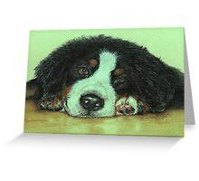 Big Puppy Paws Greeting Card