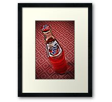 Strawberry Fanta Framed Print