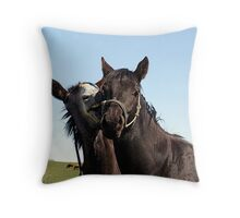 I'm Baaaaack !!! Throw Pillow