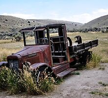 Bannack Ghost Town - Vintage Truck by IMAGETAKERS