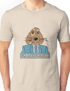 I m a dog person geek funny nerd Unisex T-Shirt