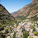 City of Ouray, Colorado, USA by Ann Reece